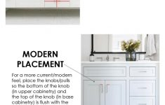 Cabinet Door Handle Placement Luxury Cabinet Hardware Placement Guide