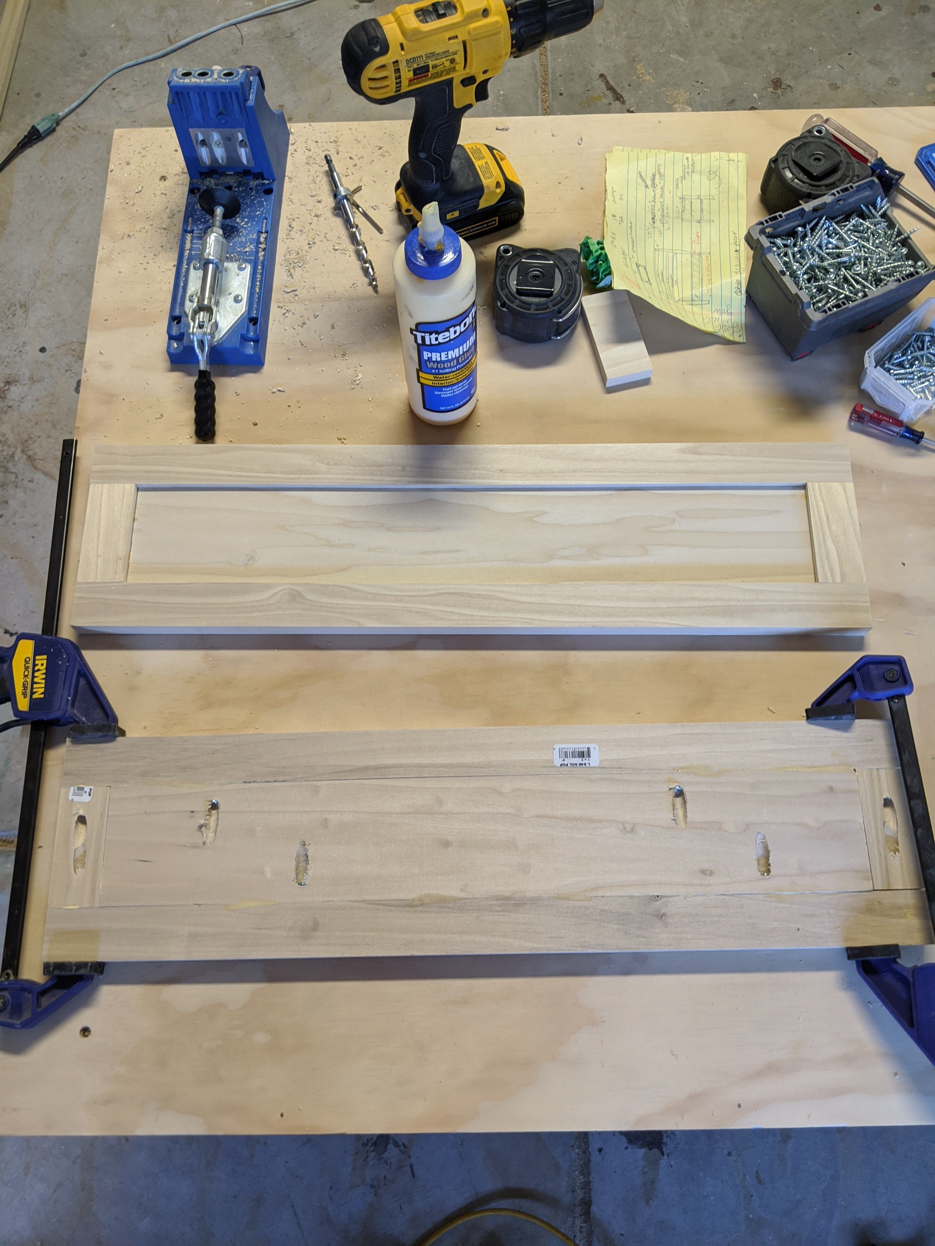 How to make shaker cabinets with Kreg Jig 3024x4032