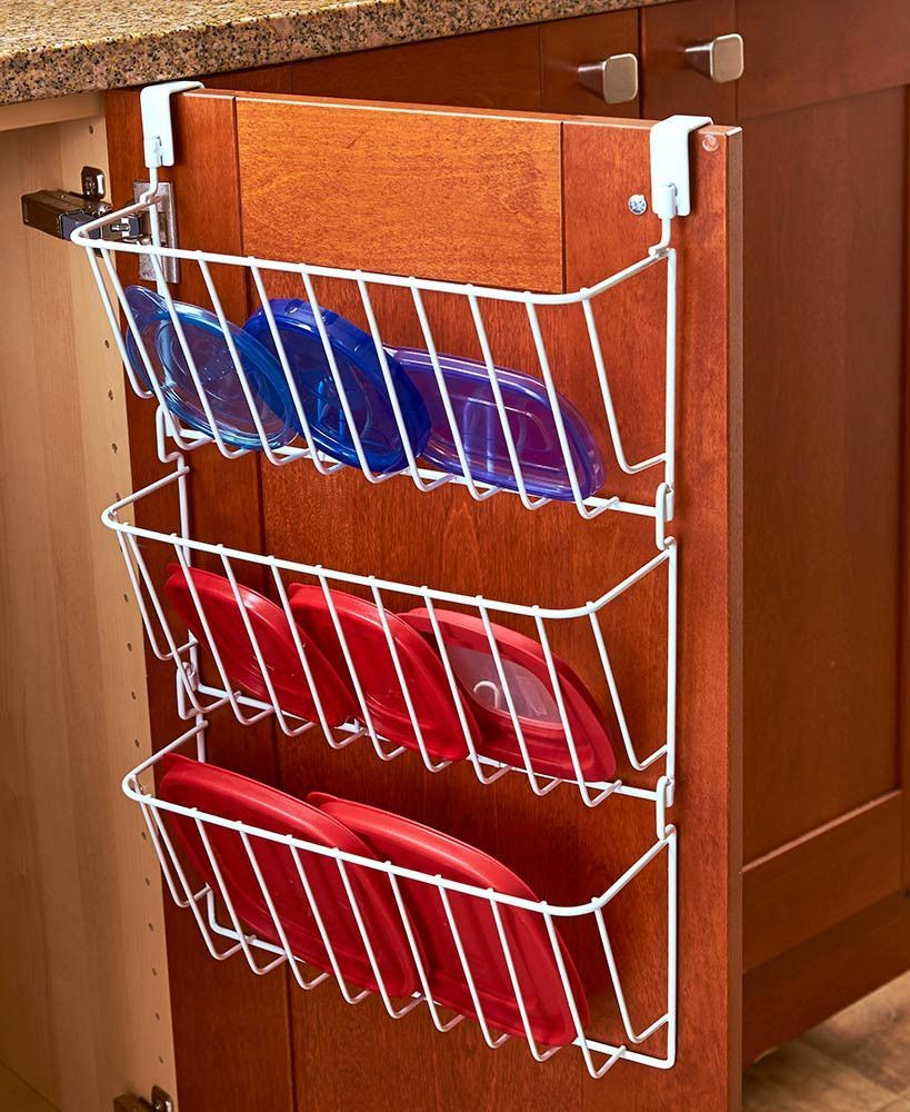 Cabinet Door Lid Rack New Store All Of Your Lids In One Place with This Cabinet Lid