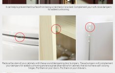 Cabinet Door Pads Lovely Bumper Protectors Cabinets Door Toilet Damping Pads Protector Buttons Clear 20pcs Pack