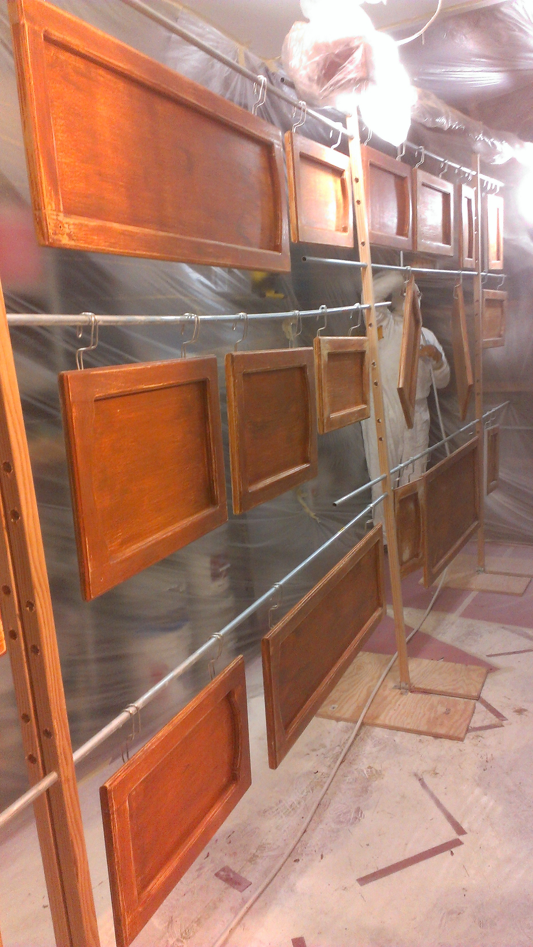 Cabinet Door Refinishing Awesome Cabinet and Trim Painting Experts Paintworx Inc