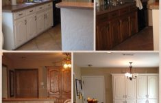Cabinet Door Refinishing Fresh Before And After Painting Kitchen Cabinets Trim And Doors