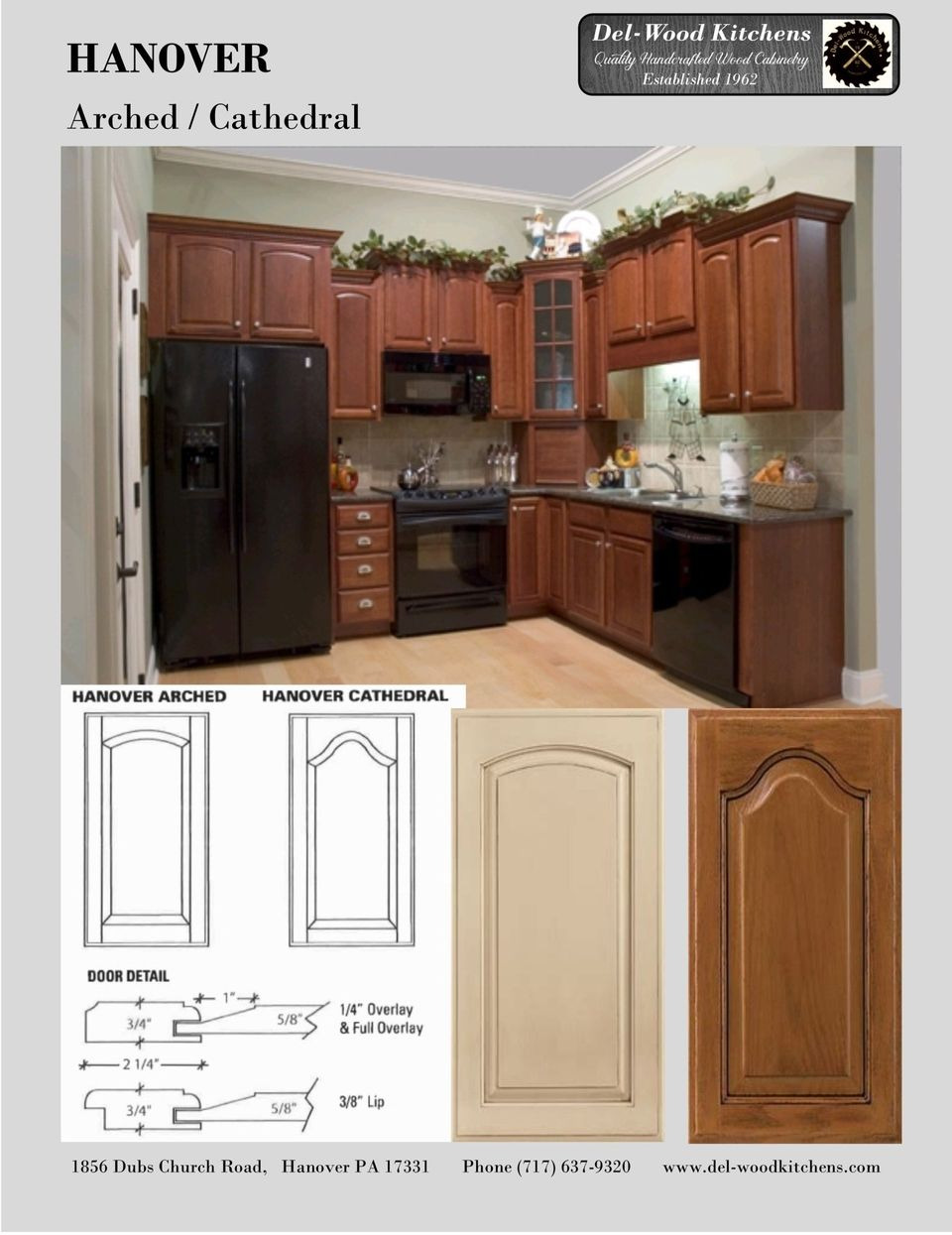 Doors Hanover Arched 960w