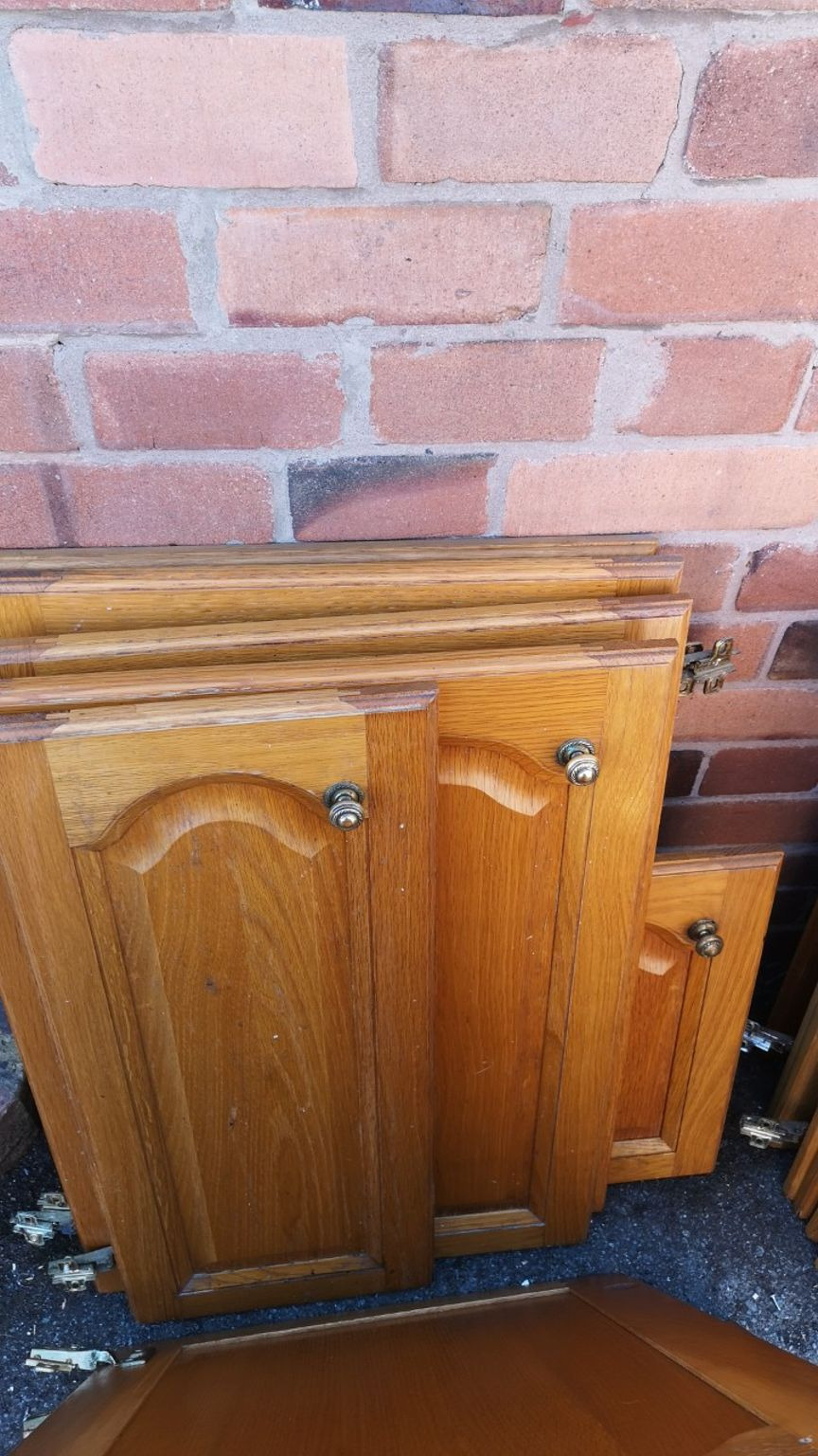 free 21 solid wood cathedral kitchen doors