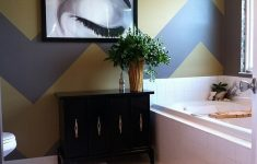 Chevron Bathroom Decor Beautiful Trendy And Refreshing Gray And Yellow Bathrooms That