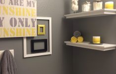 Chevron Bathroom Decor Beautiful Using Too Much Grey Is Suppressive The Absence Of Color Can