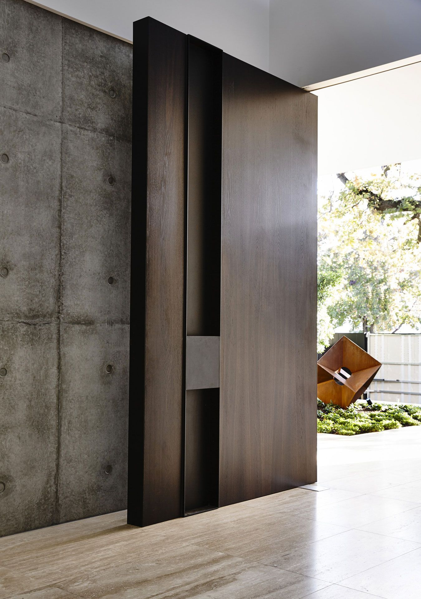 Contemporary Door Designs for Residence Awesome Workroom Designs A Contemporary Home In Melbourne Australia