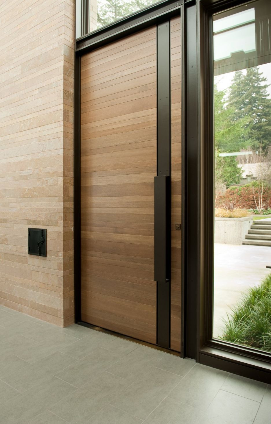 Contemporary Door Designs for Residence Elegant Architecture Contemporary Washington Park Hilltop Residence