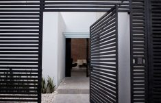 Contemporary Gate Designs For Homes Awesome Modern Gate Design For Townhouse