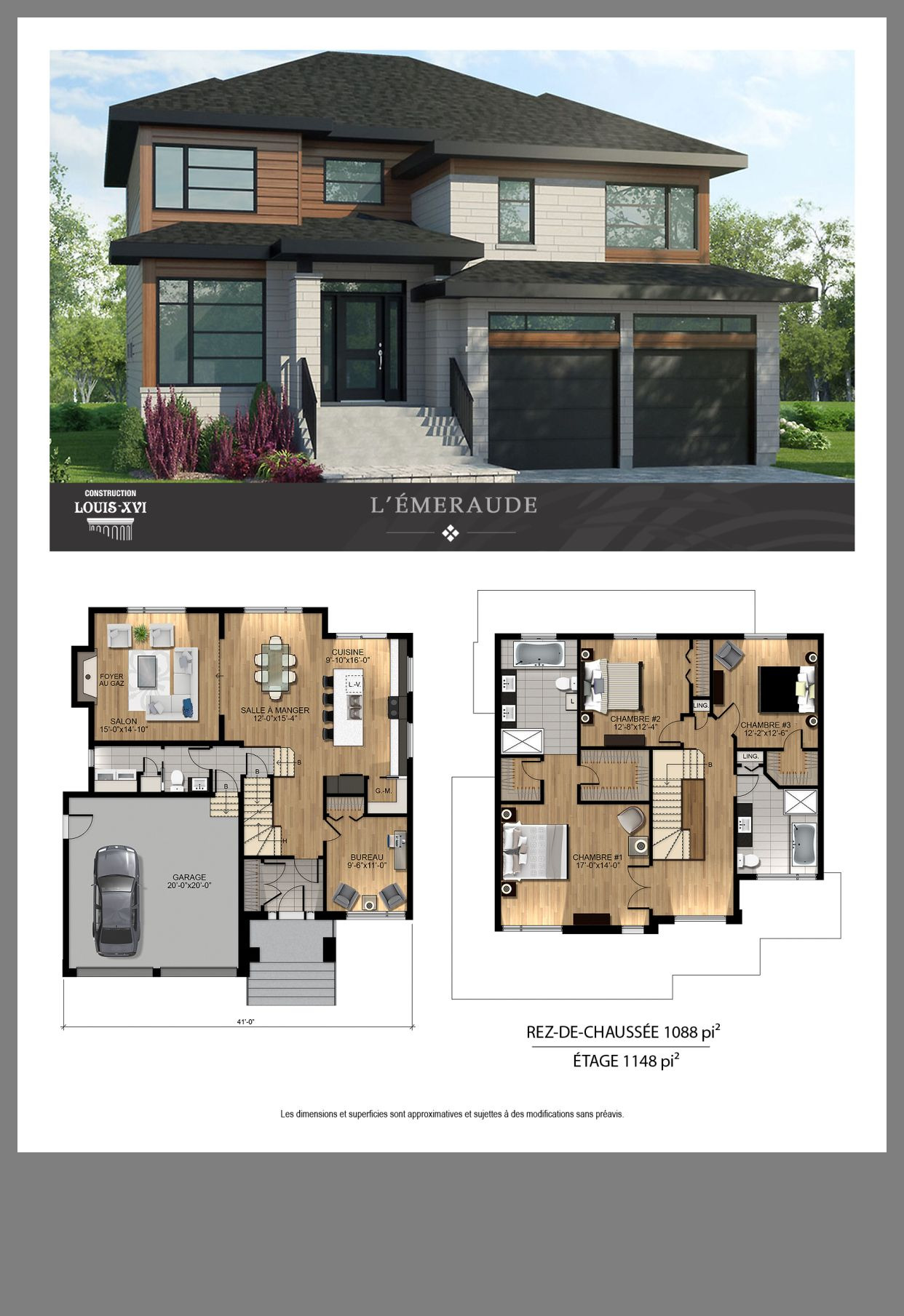 Contemporary House Plans and Designs Lovely Maison