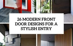 Contemporary Main Door Designs Unique 26 Modern Front Door Designs For A Stylish Entry Shelterness