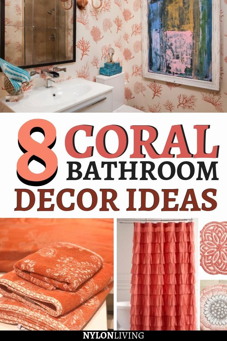 Coral Color Bathroom Decor Luxury Coral Color Bathroom Decor Awesome Refresh Your Bed and Bath