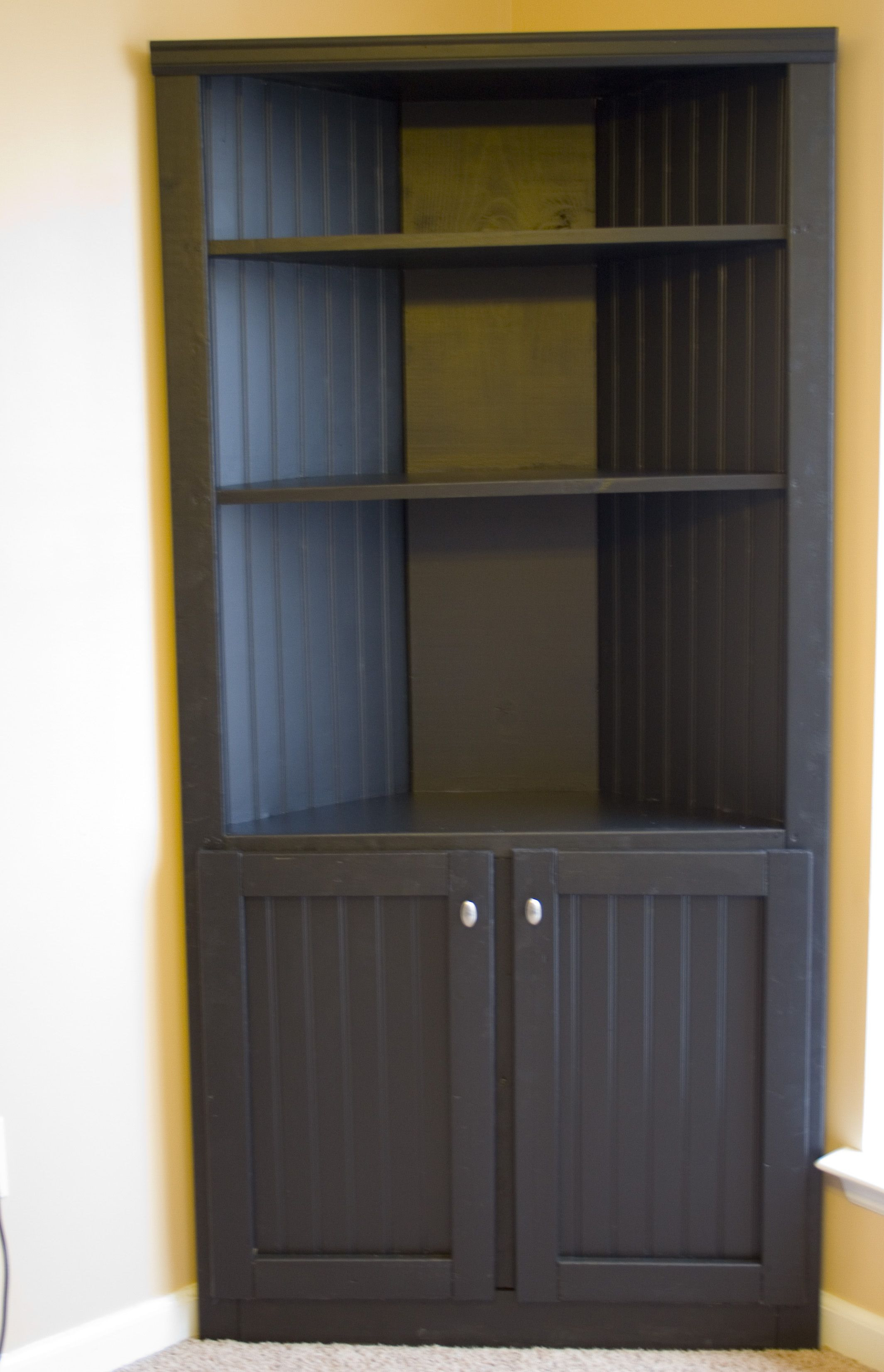 Corner Cabinets with Doors New Cute Built In Corner Cabinets