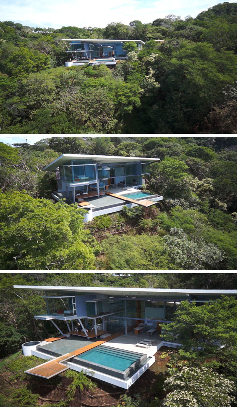Costa Rica House Plans Awesome This Modern House In Costa Rica Sits Under A Dramatic