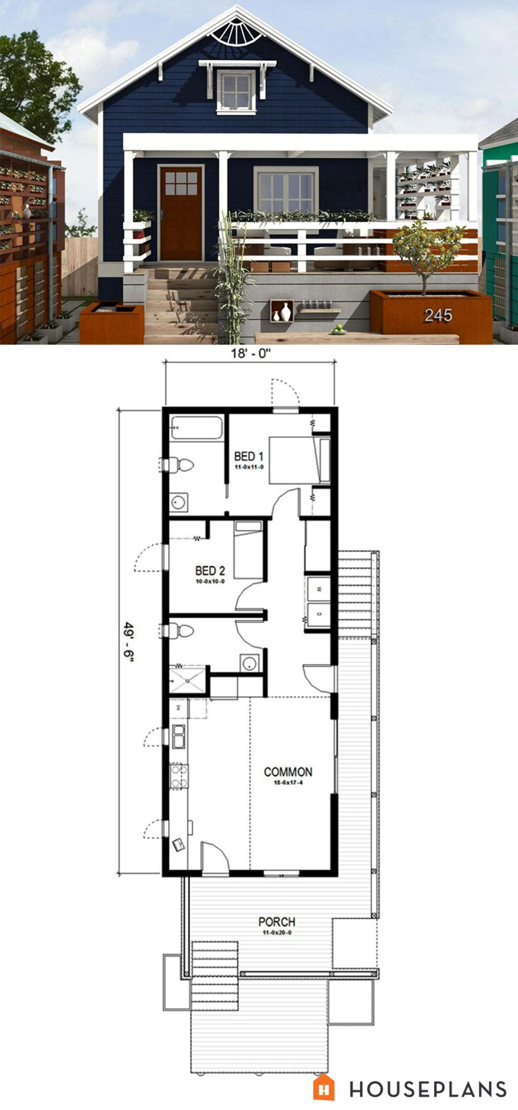 Cottage Style House Plan Beautiful Cottage Style House Plan 2 Beds 2 Baths 891 Sq Ft Plan