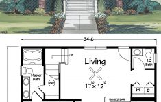 Cottage Style House Plan Unique This Is An Extremely Open Floor Plan Coastal