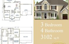 Custom Dream House Plans Best Of Dream House Plans Popular Southern 3 Bedroom 3102 Sq Ft