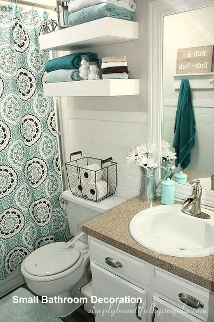 Decorating Ideas for Small Bathrooms Awesome 15 Decor and Design Ideas for Small Bathrooms 2 In 2020