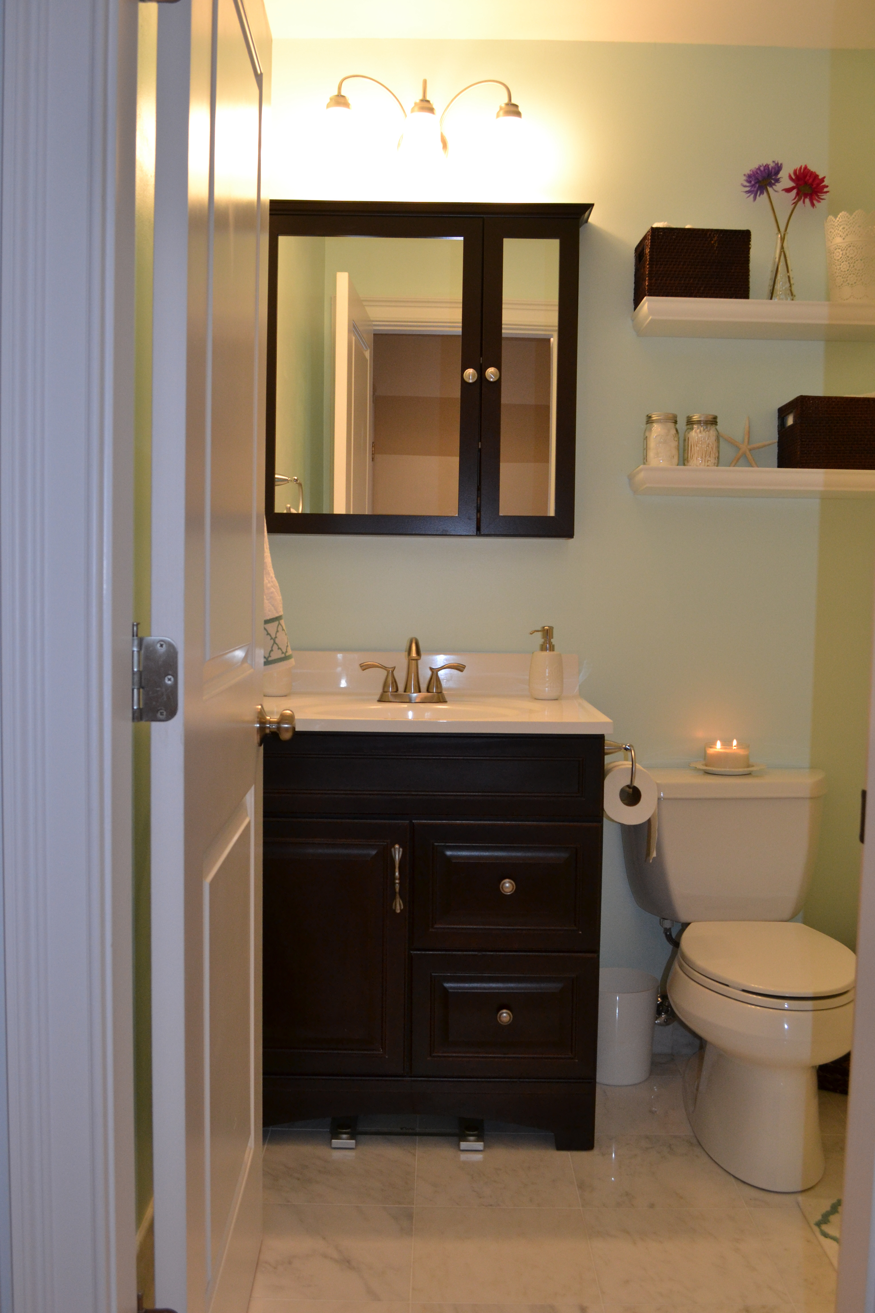Decorating Ideas for Small Bathrooms Awesome Elegant Bathroom Wall Decorating Ideas Small Bathrooms