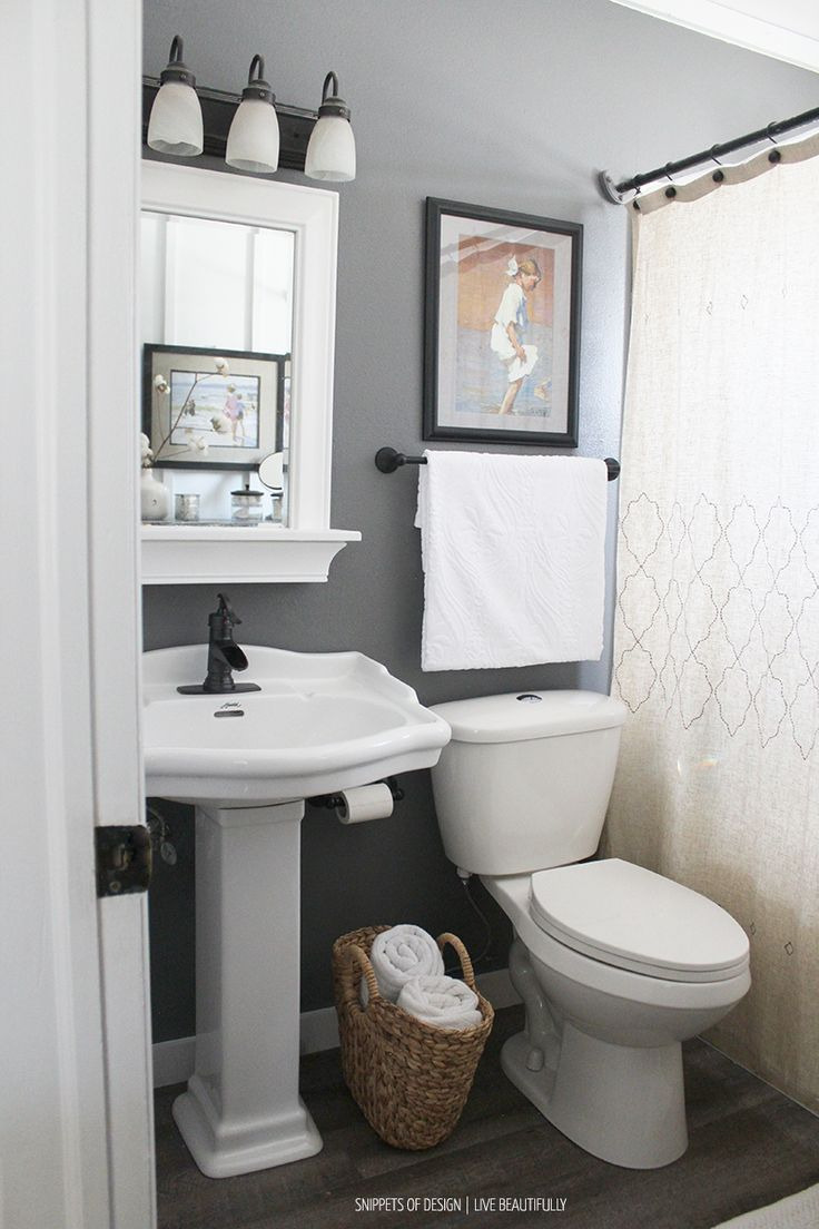 Decorating Ideas for Small Bathrooms Fresh 15 Gorgeous Small Bathroom Decor Ideas Bathroom Decor