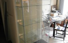 Detolf Glass Door Cabinet Inspirational Ikea Hack Detolf Dual Modification