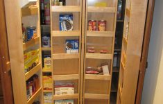 Double Door Pantry Cabinet Elegant Tall Kitchen Pantry For Storing Many Things