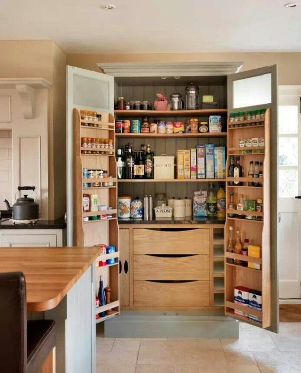 kitchen brown wooden pantry cabi with double doors and 2 door double cabinet hinge double cabinet with single center mirror