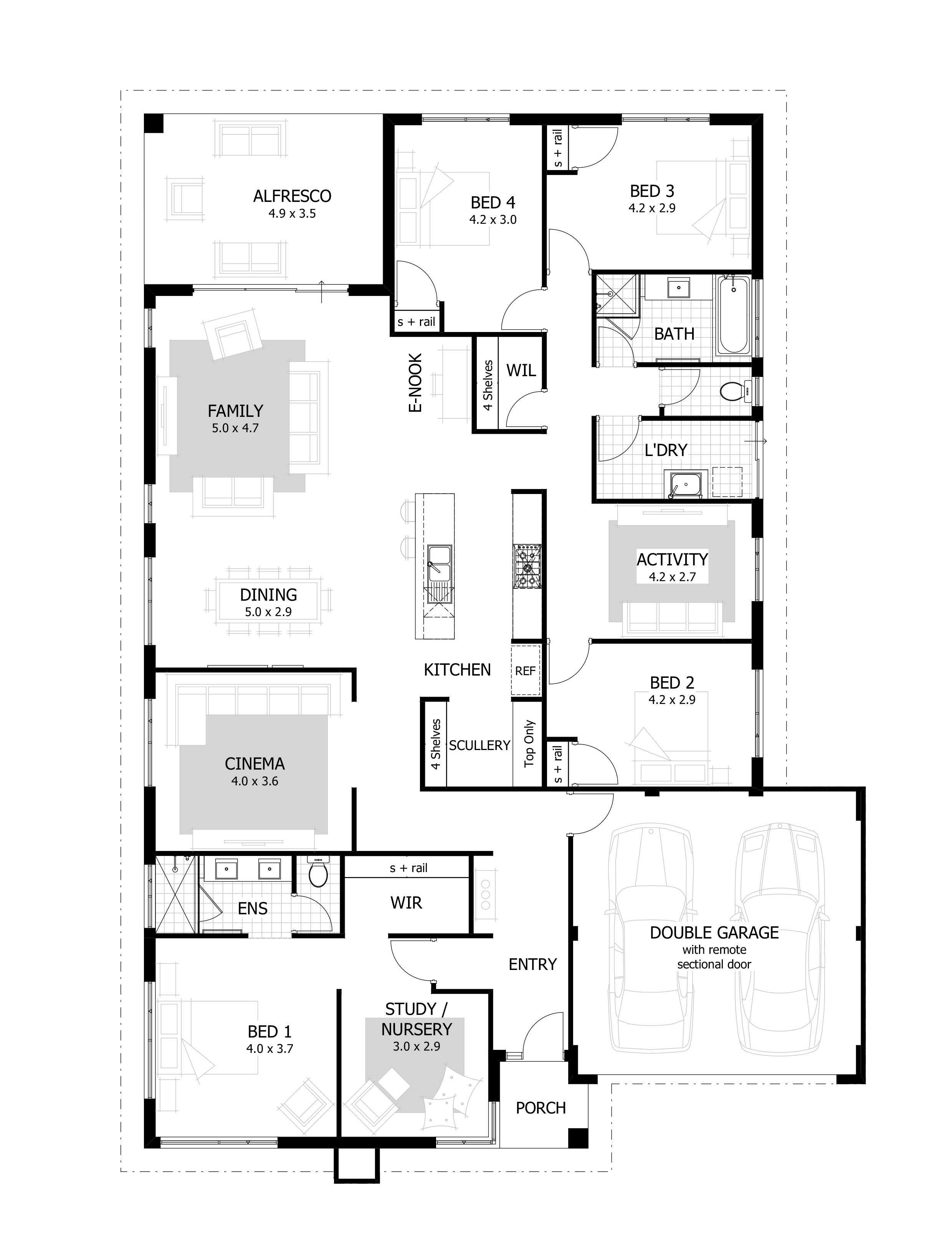 Draw Own House Plans Beautiful 4 Bedroom House Plans & Home Designs Celebration Homes