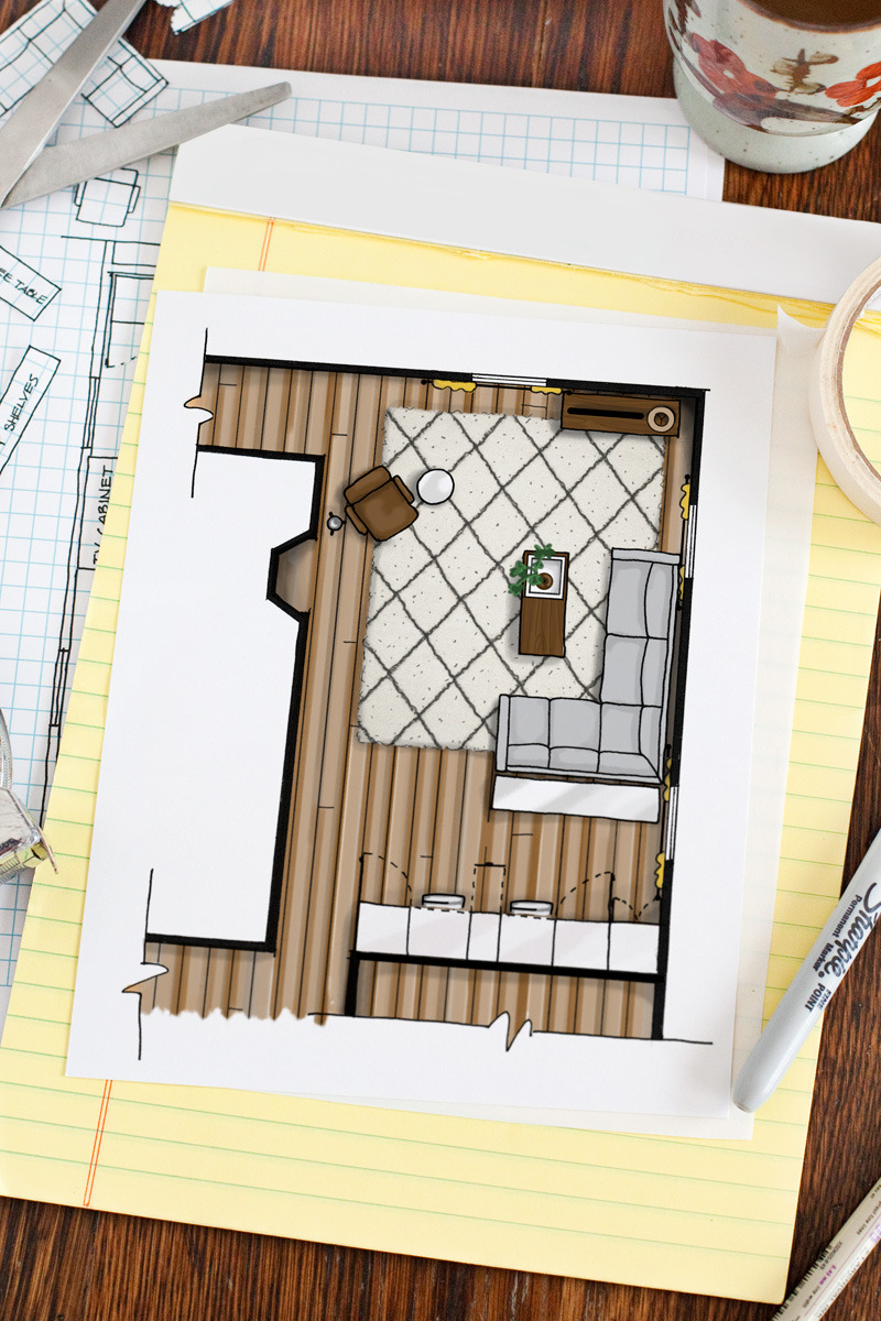 Draw Own House Plans Lovely How to Draw A Floor Plan A Beautiful Mess