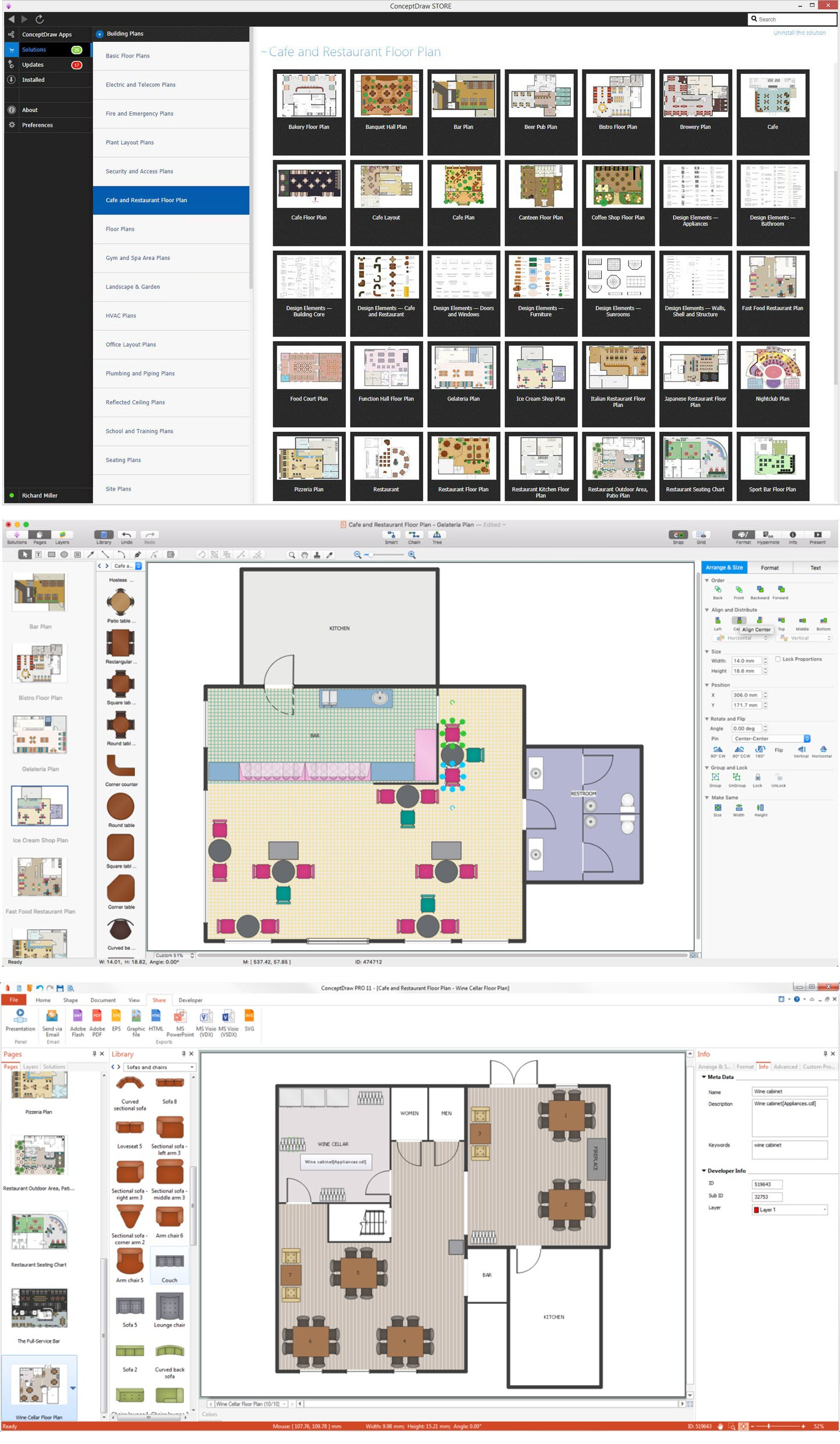 Drawing House Plans software Beautiful Function Hall Floor Plan Café Floor Plan Example