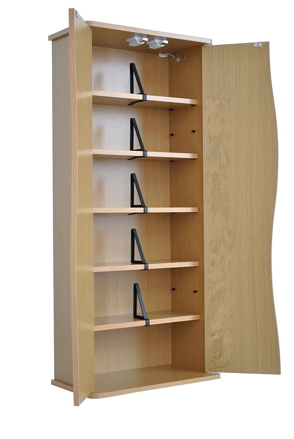 Dvd Cabinets with Doors Unique Citysales Oak Small Dvd Cd Storage Cabinet Cupboard with