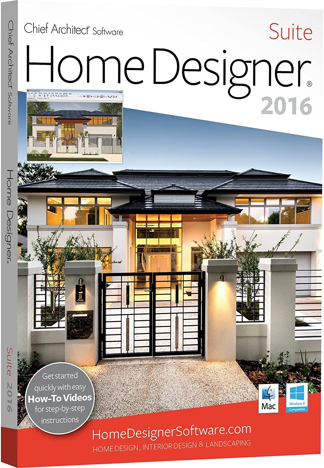 Easy House Plan software New Chief Architect Home Designer Suite 2016