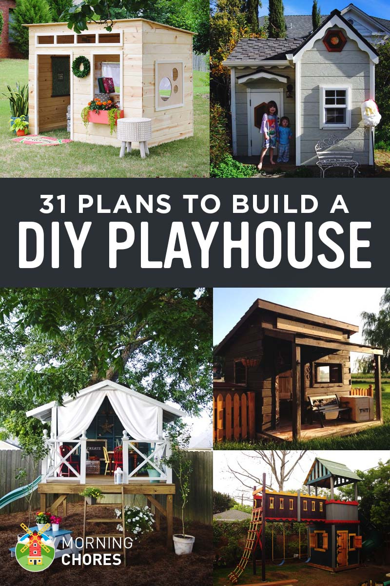 Free Plans for Houses Luxury 31 Free Diy Playhouse Plans to Build for Your Kids Secret