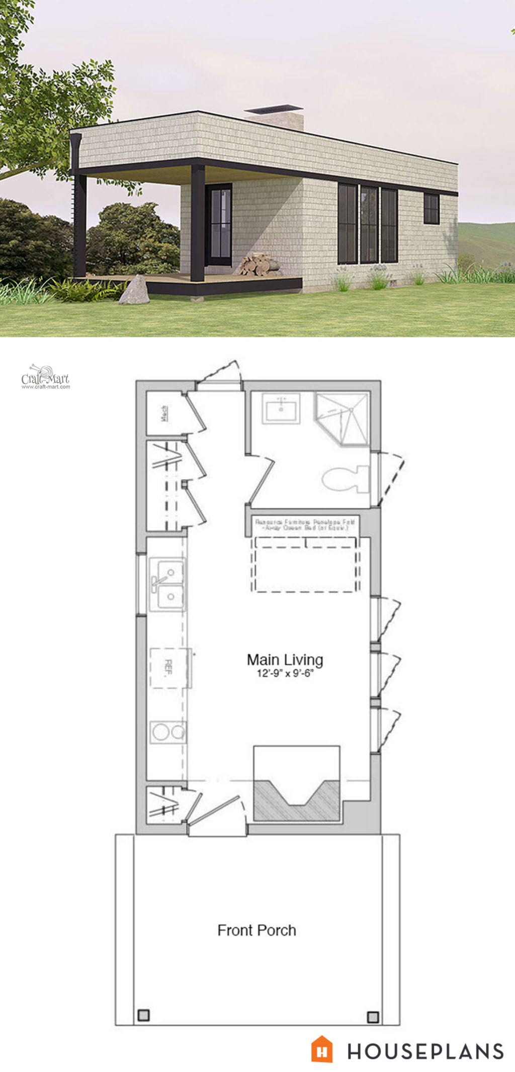 Free Plans for Houses New 27 Adorable Free Tiny House Floor Plans Craft Mart