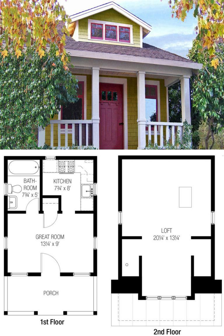 Free Plans for Houses New 27 Adorable Free Tiny House Floor Plans