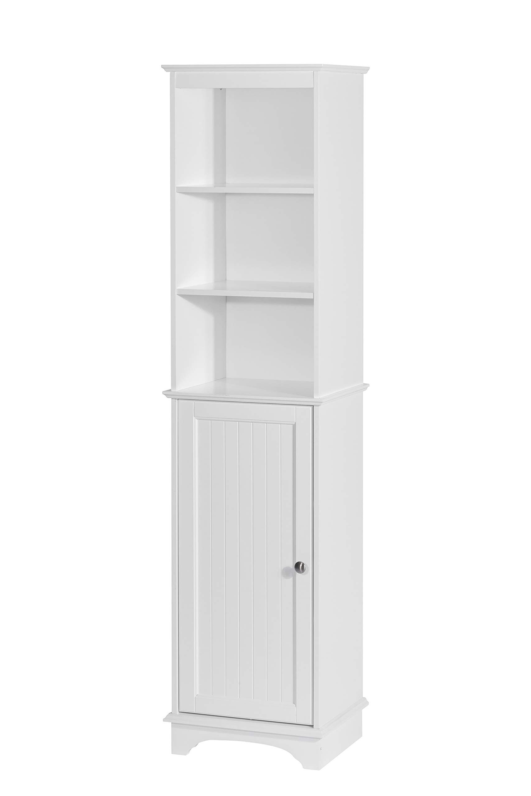 Free Standing Storage Cabinets with Doors Lovely Spirich Home Freestanding Storage Cabinet with Three Tier Shelves Tall Slim Cabinet Free Standing Linen tower White Finish