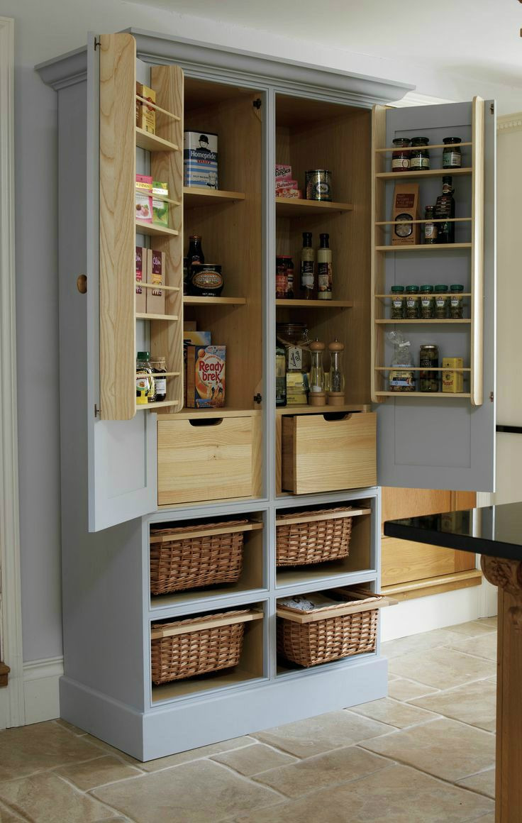 Free Standing Storage Cabinets with Doors Luxury 20 Amazing Kitchen Pantry Ideas