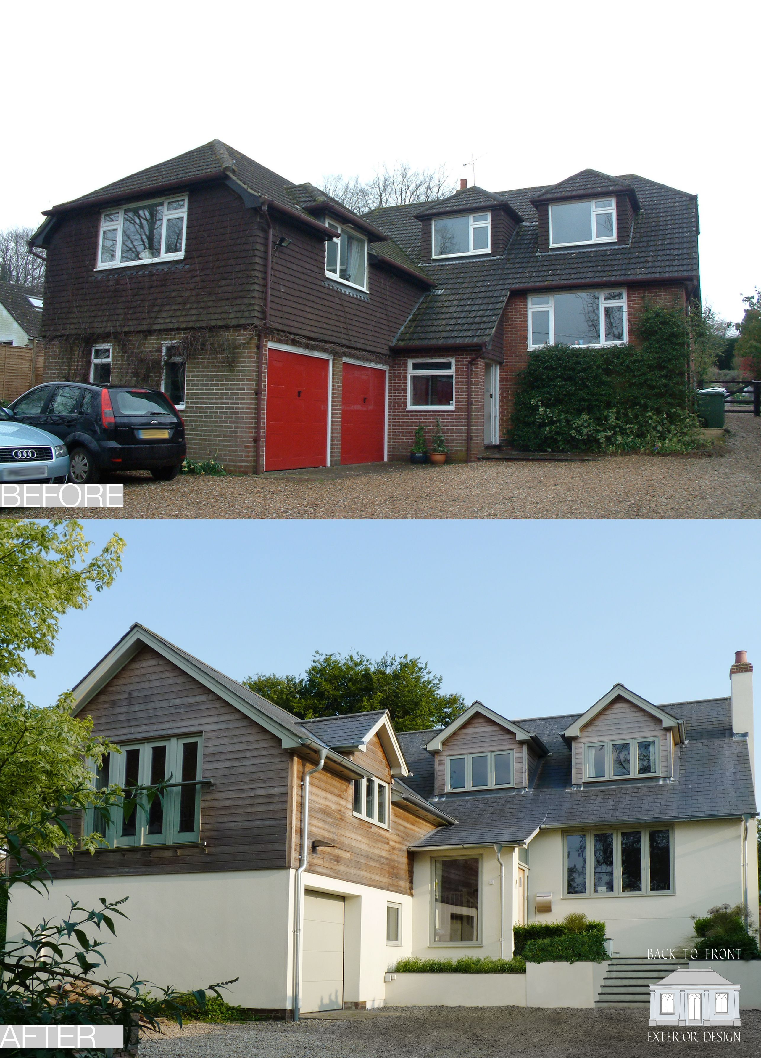 Front Facades Of Houses Beautiful Exterior Remodelling Scheme by Back to Front Exterior Design