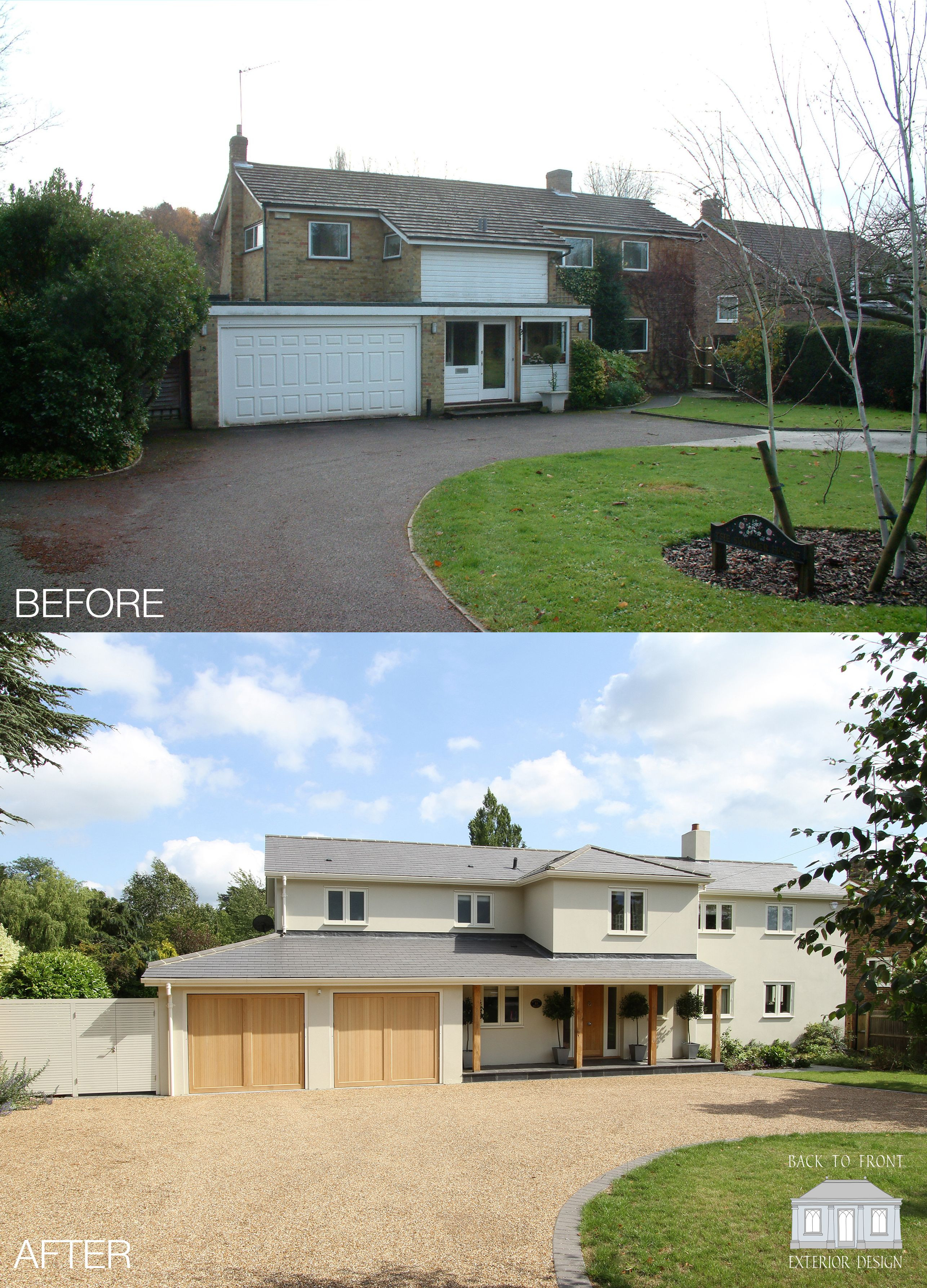 Front Facades Of Houses Luxury Exterior Transformation 1960 S House In Surrey by Back to