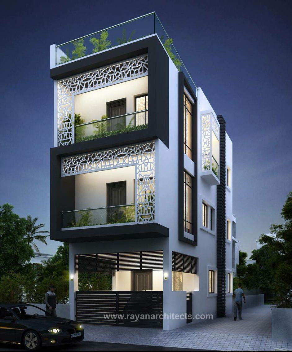Front Portion Design Of House Awesome as Flats