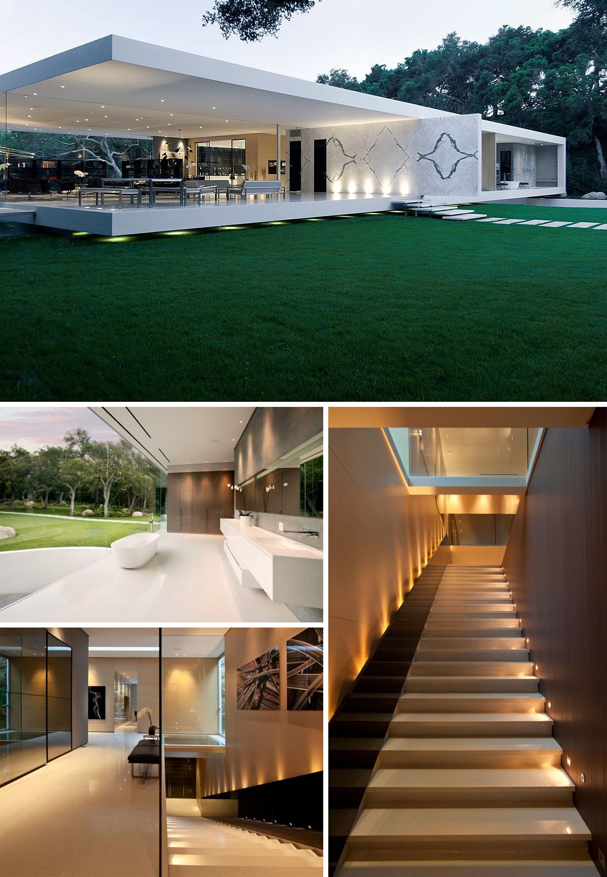 Glass Pavilion House by Steve Hermann Awesome Glass Pavilion House by Steve Hermann