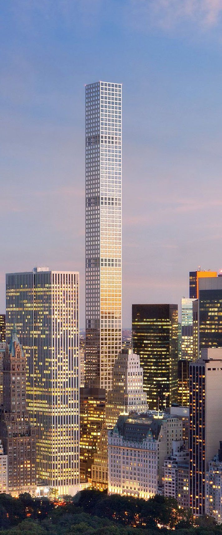 Height Of 432 Park Avenue Luxury 432 Park Avenue tower New York City Designed by Rafael