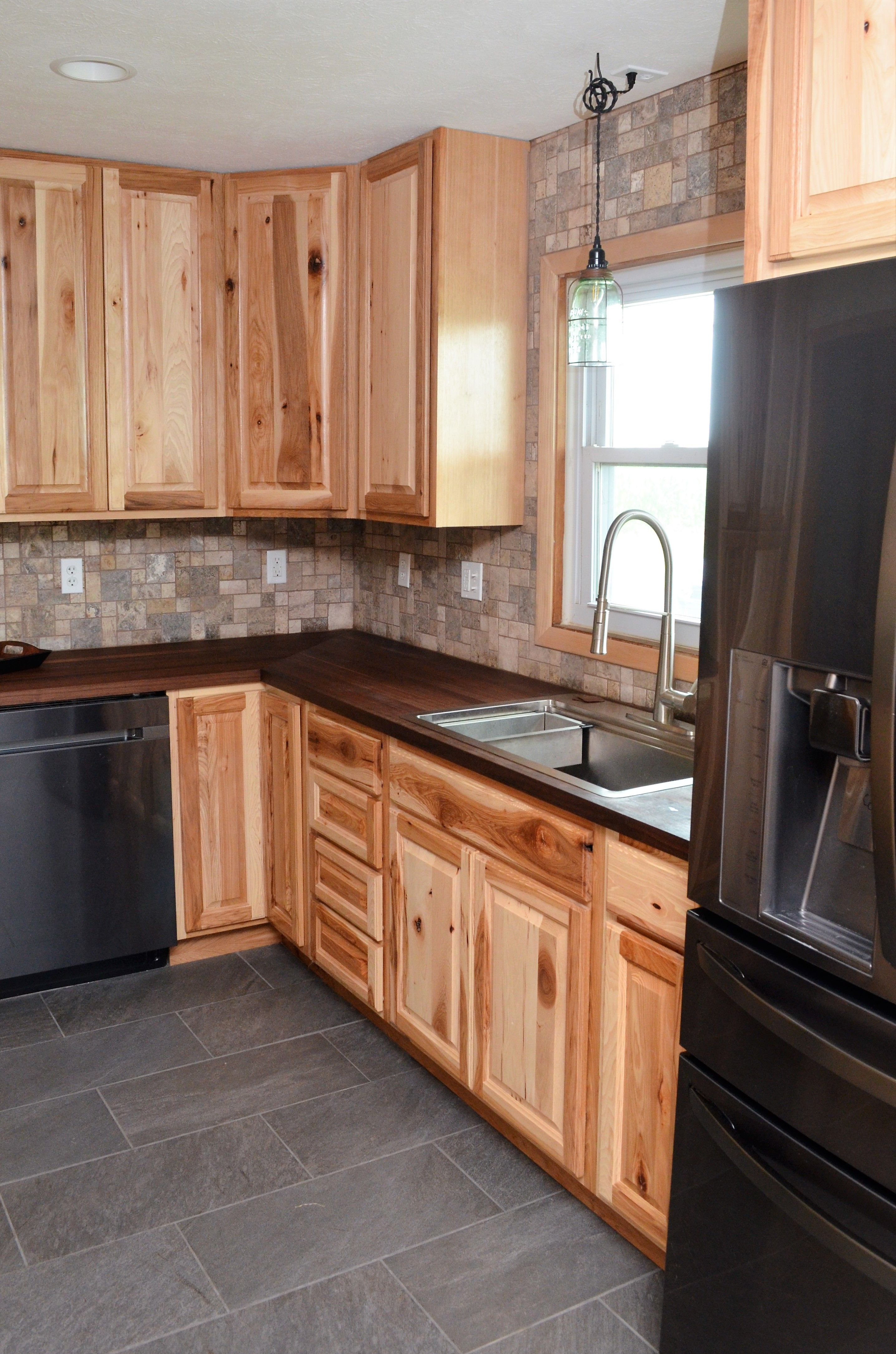 haas signature collection wood species rustic hickory rustic hickory kitchen cabinet doors l db f3f62cc9