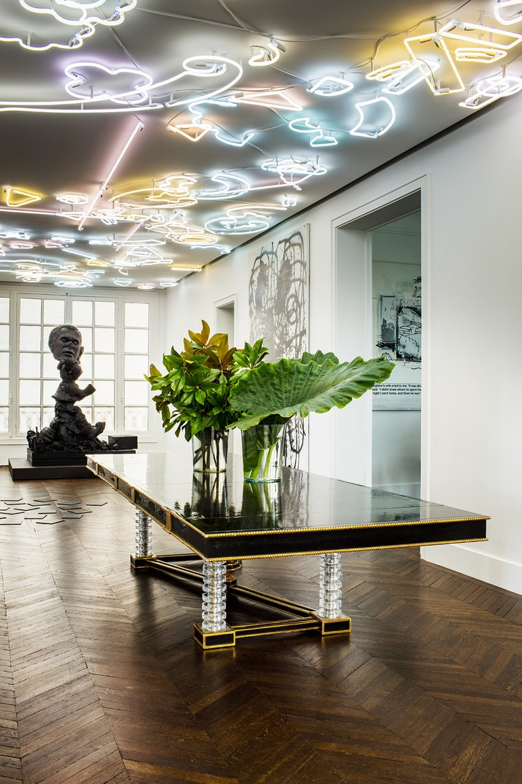 Home Design Picture Gallery New Contemporary and sophisticated Home Art Gallery In Paris