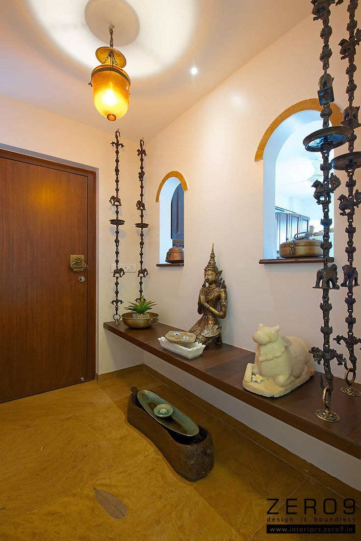 lovely entrance area pinterest interiors foyers and puja room throughout unique indian home entrance decoration