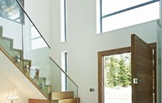 Home Entrance Stairs Design Awesome Double Height Light Entrance