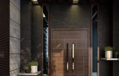 House Main Entrance Door Design New Modern Villa Entrance On Behance