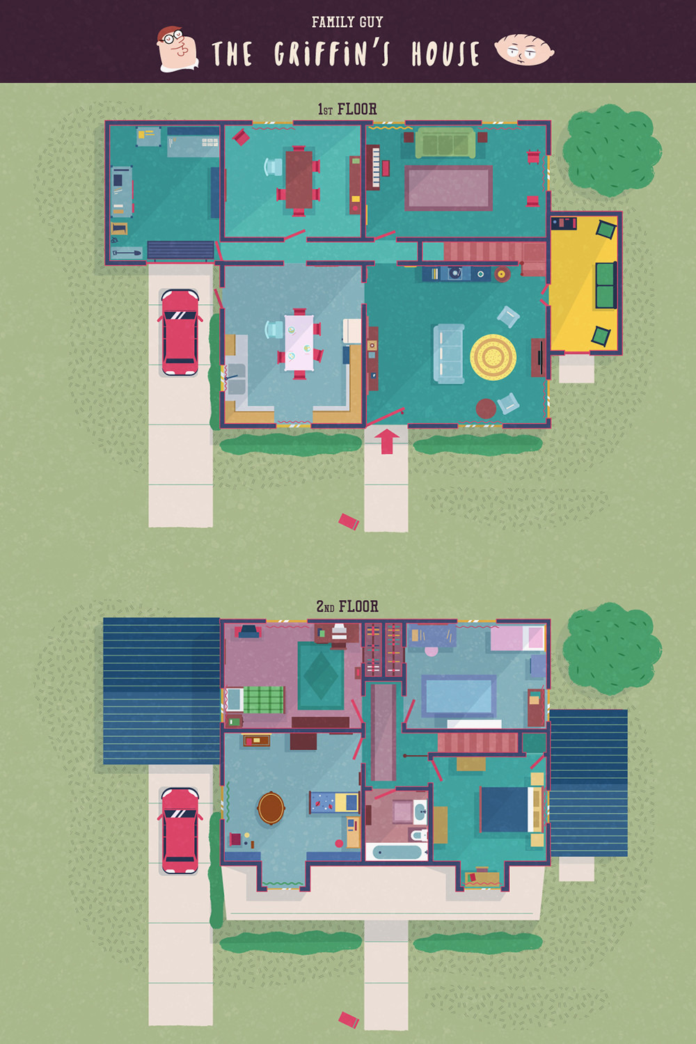 family guy house plans beautiful tv show floor plans from corrie will and grace peaky blinders and more of family guy house plans