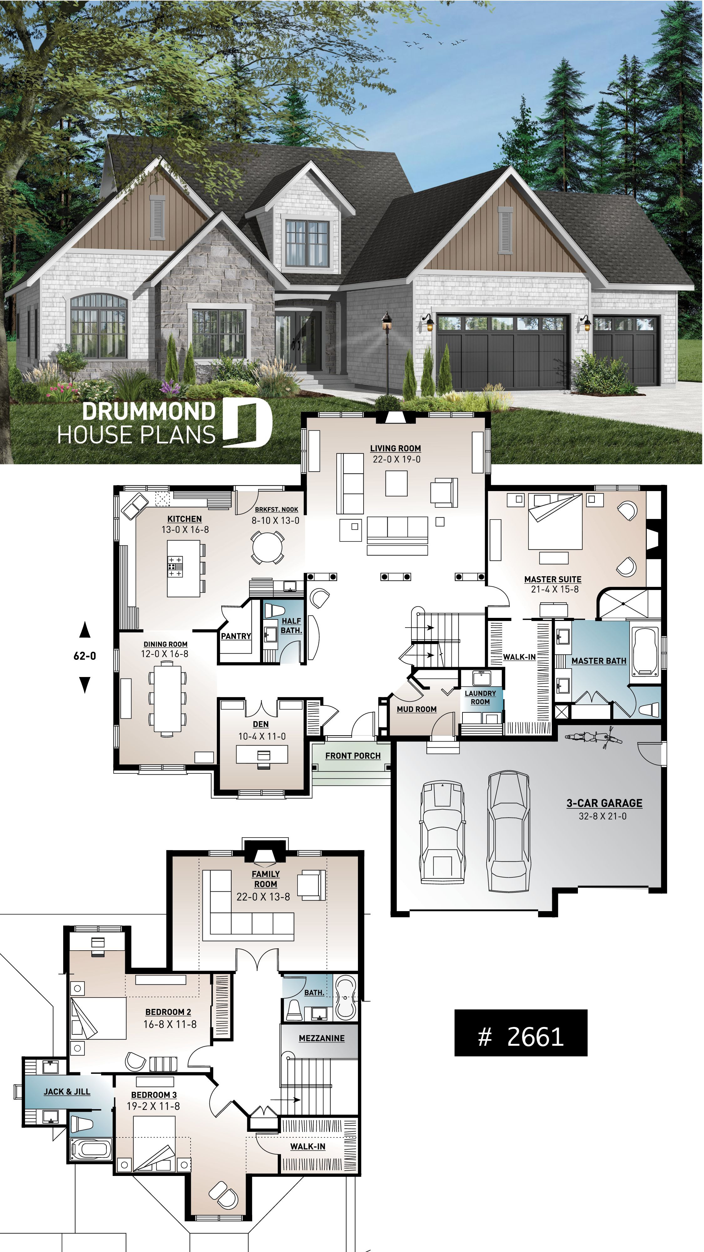 House Plan with Pictures Elegant House Plan Lancaster No 2661