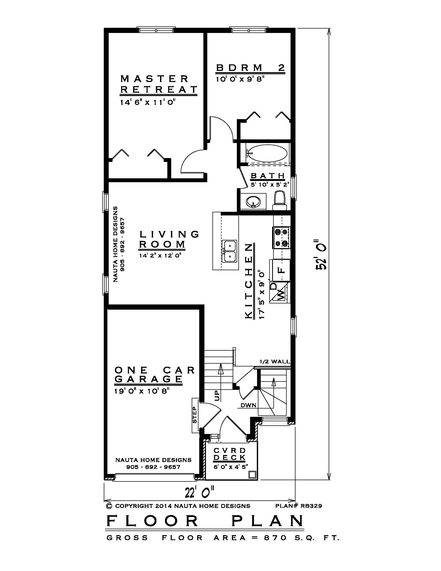 House Plans Canada with Photos Lovely Raised Bungalow House Plan Rb329 Floor Plan Nauta Home